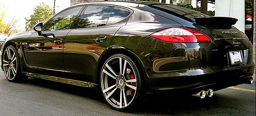 22 Quot Turbo Ii Stuttgart Wheels On Panamera By Wheelpal Com