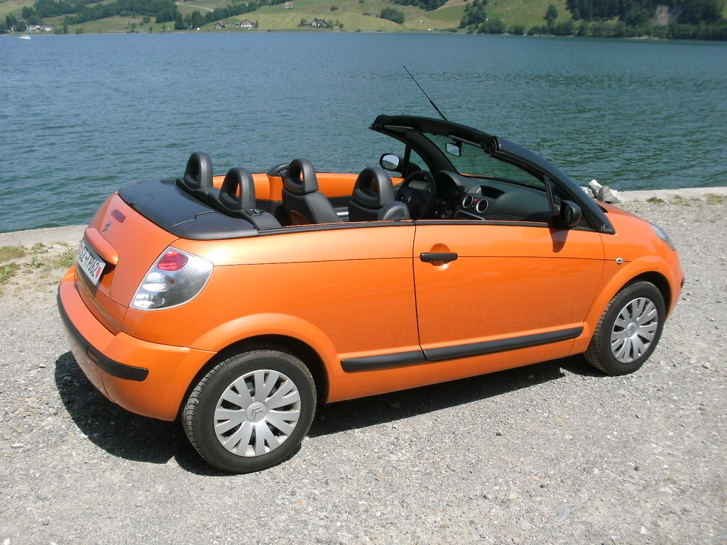 Citroen c3 pluriel 2006 orange a rien dyanists for Photos de photos