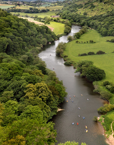 Canoeing on the River Wye | by Stephen Laverack