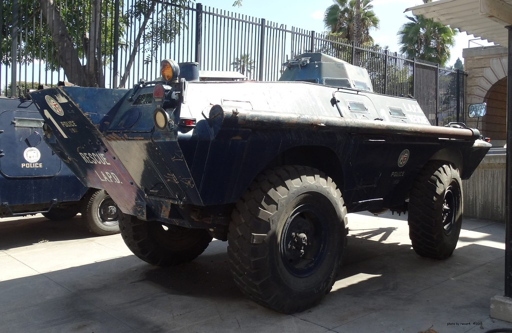 Lapd Cadillac Gage Commando V100 Armored Vehicle 3 Flickr