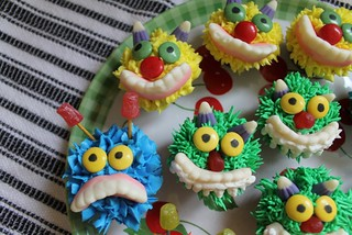 Mini Monster Cupcakes - 3 | by Makey Bakey