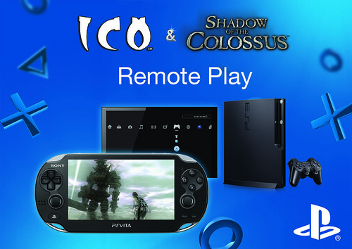 PS Vita Remote Play - Ico and Shadow of the Colossus Collection | by PlayStation.Blog