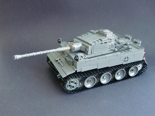 Lego ww2 -Tiger I Ausf. H early production- | by =DoNe=