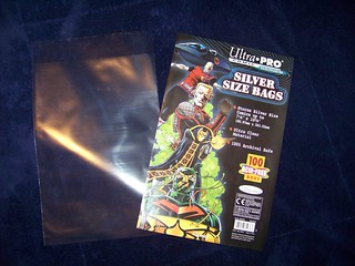 Comic book bags for pattern storage | by pj3g