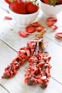 Strawberry Chocolate Covered Pretzels 001 | by Hungry Housewife