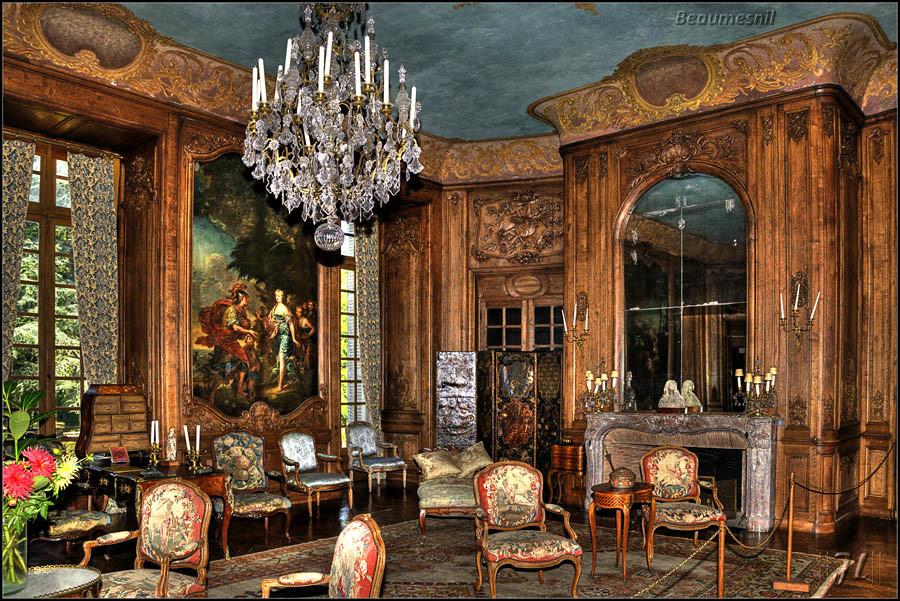 Ch teau de beaumesnil le grand salon jean louis flickr for Le salon chatou