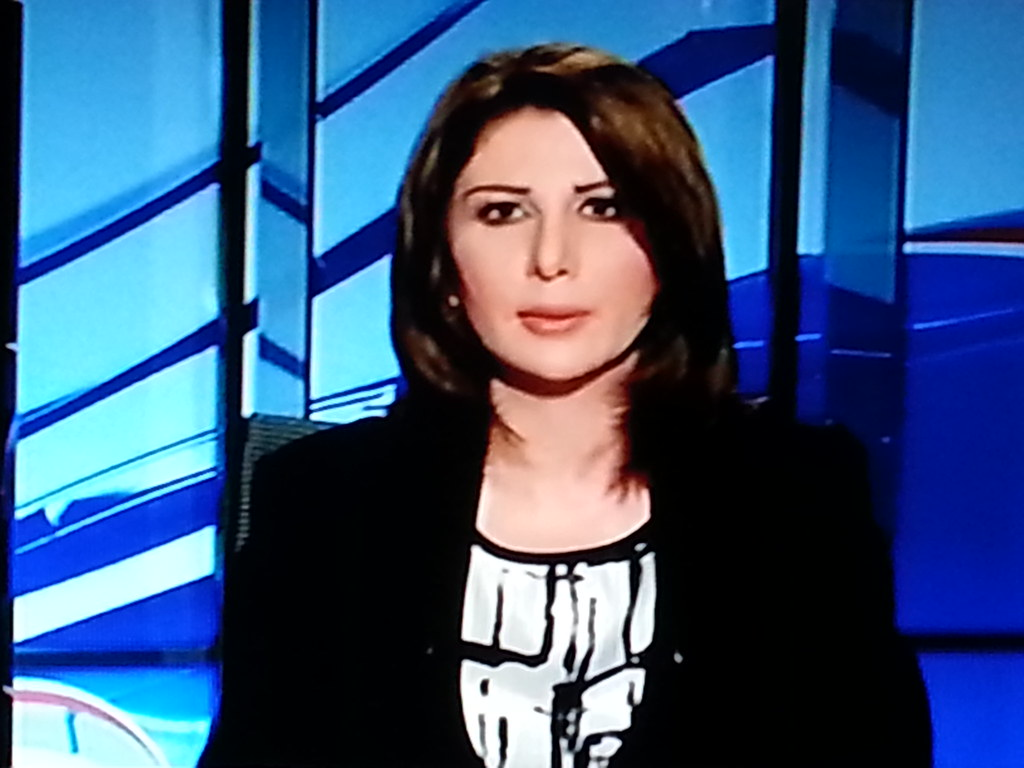 1# The first presenter in the Arabiya Arab news channel