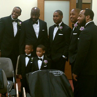 Some of the guys before the wedding @nelsonjonathan @jhm2 | by HaroldJones_99