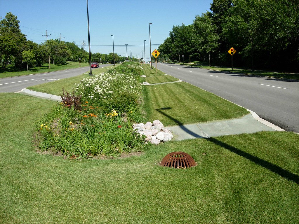 Greendale Grangeave 2010 07 15 Bioretention Bioswale
