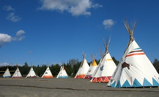 teepees on chaleur bay | by Mr.  Mark