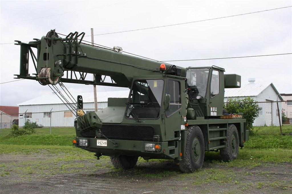 Mobile Crane Apprentice Jobs Canada : Grue militaire krupp military crane canada oromocto