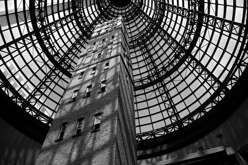 Melbourne shot tower bw | by Heaven`s Gate (John)