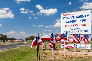 Fayette County Fairgrounds at La Grange, TX | by Russell J Bennett