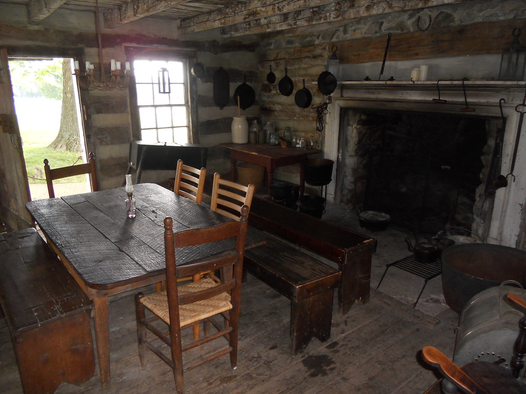 1800s Kitchen W Baldwin Flickr