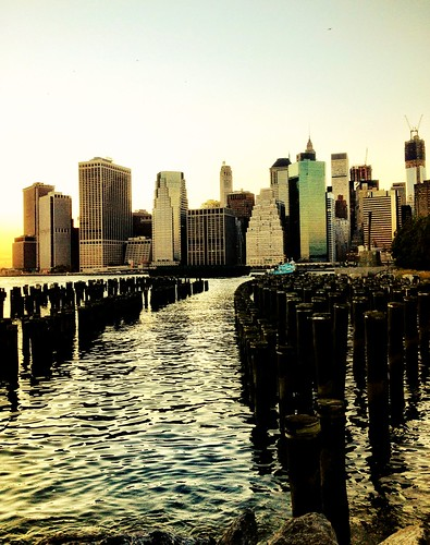The New York City Skyline as seen from Brooklyn Bridge Park | by Vivienne Gucwa