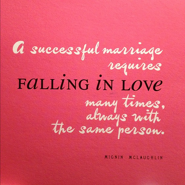My anniversary card to him. Wise words, I\'d say.   thisdreamergirl ...