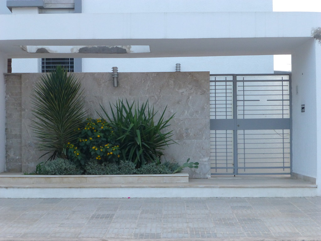 Porte ext rieure fer forg tunis citizen59 flickr for Porte exterieur de jardin