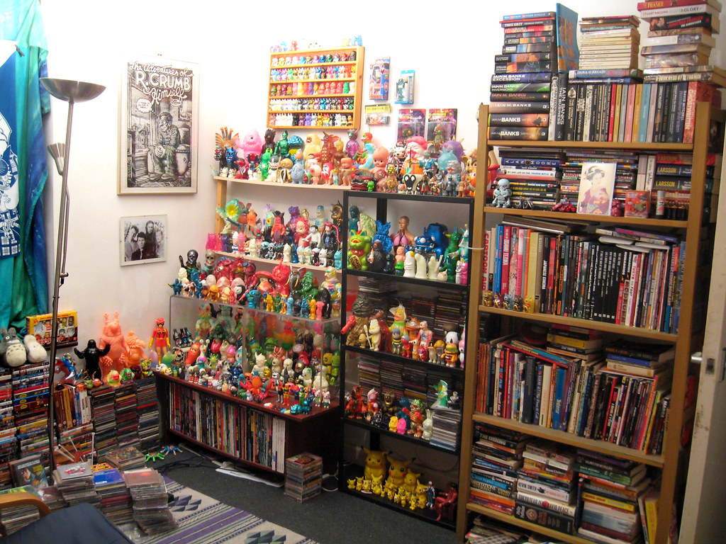 Man Cave Toys : My man cave some of books japanese toys the