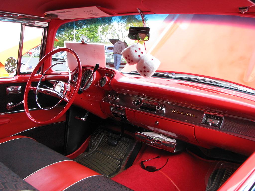 1957 Chevrolet Bel Air Interior Geognerd Flickr Chevy By