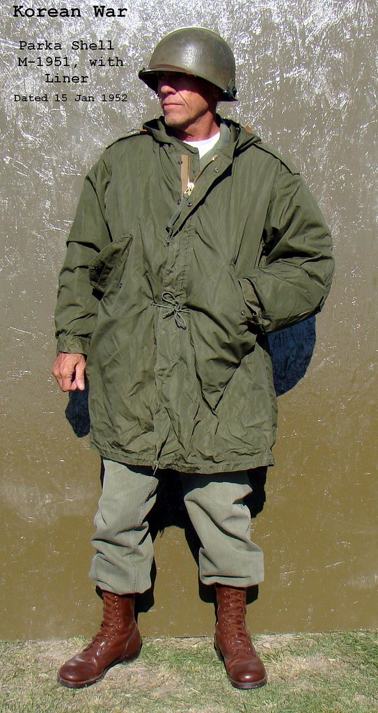 Korean War Parka Shell M-1951 with Liner | This parka has ...