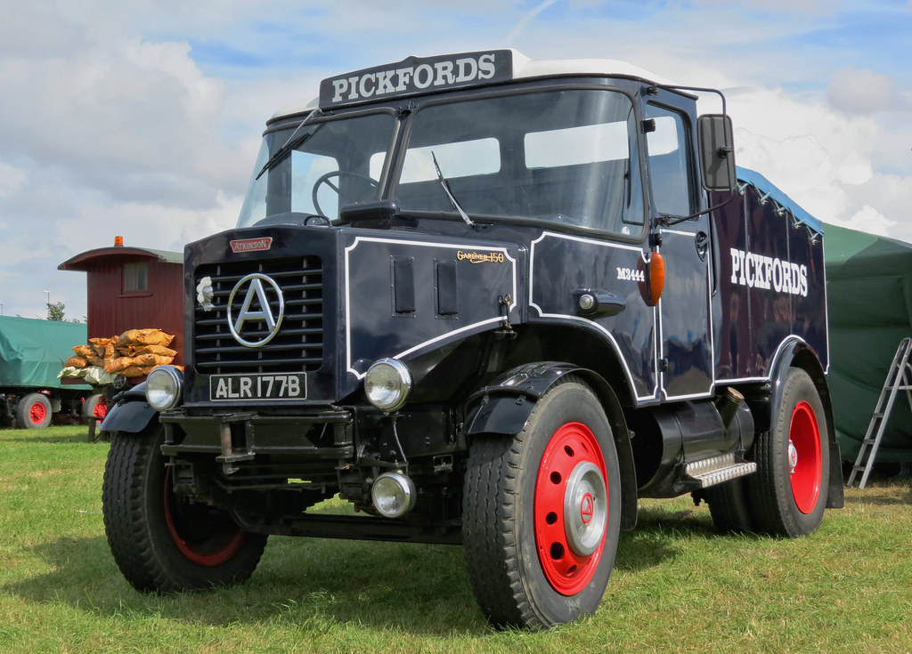 alr177b 1964 atkinson semi bonneted ballast tractor ex pic flickr. Black Bedroom Furniture Sets. Home Design Ideas
