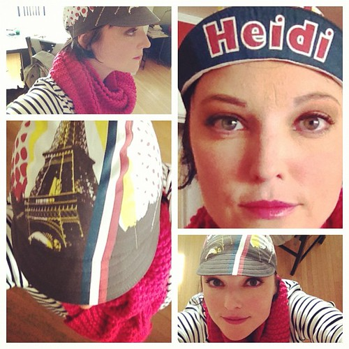 Sliding in under the wire with my #CyclingCapTuesday entry: a @littlepackage custom #revetour beauty! | by heidi.swift