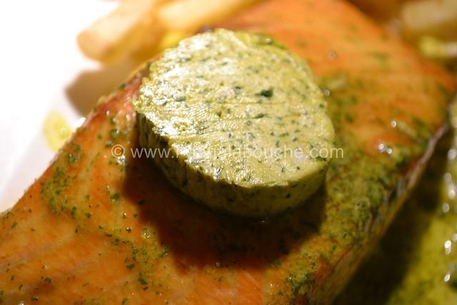 Saumon à la Plancha Beurre Epicé & à la Ciboulette © Ana Luthi 0006