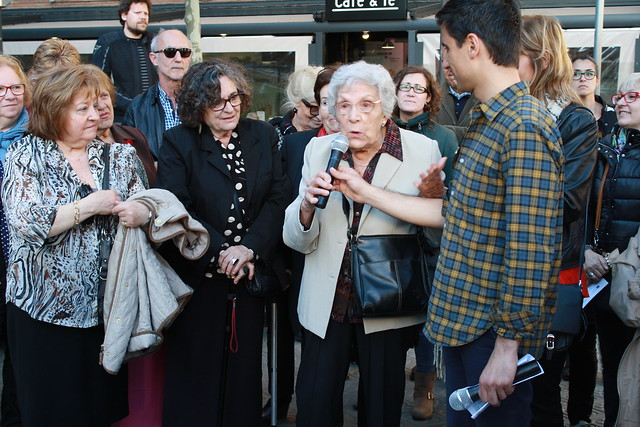 14 April: 85th Anniversary of the Proclamation of the Second Spanish Republic and homage to Maria Salvo at the memorial site of the former women's prison of Les Corts