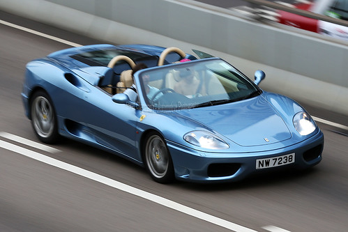 Ferrari, 360, Spider, Admiralty, Hong Kong | by Daryl Chapman Photography
