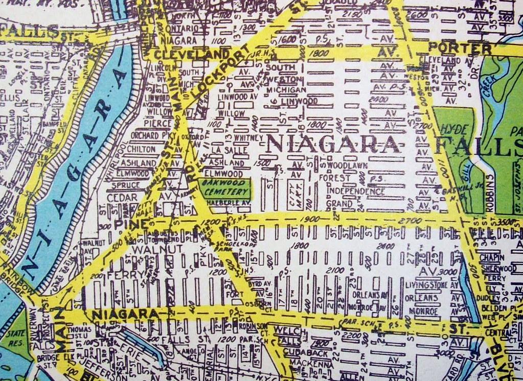 Niagara falls ny 1945 map by geographia maps flickr niagara falls ny 1945 by davecito publicscrutiny Choice Image