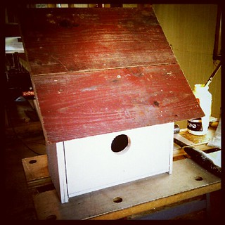 Homemade birdhouse | by jacob earl