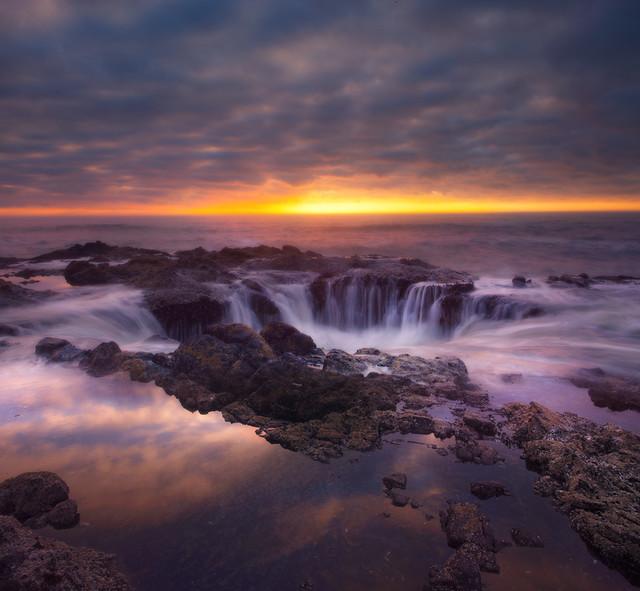 Thor39s Well  Oregon Coast  Flickr  Photo Sharing