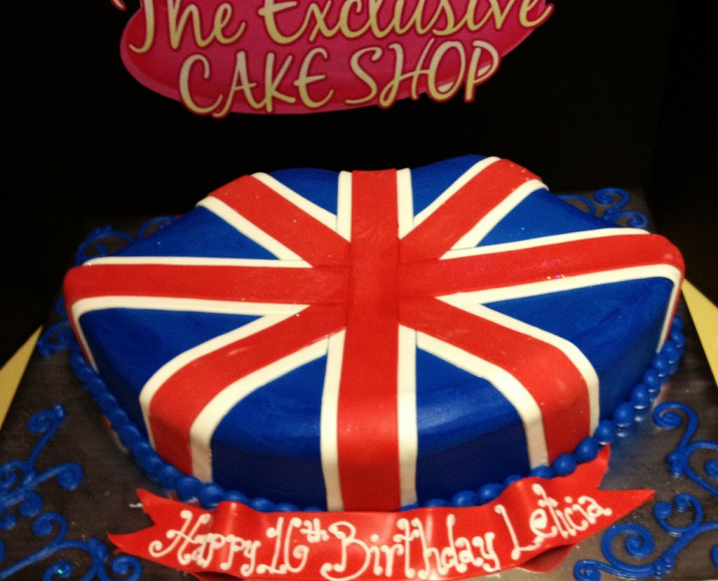 England flag Cake Exclusive Cake Shop Flickr