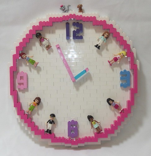 LEGO Friends Clock | by TheBrickMan