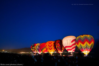 The Dawn Patrol, Great Reno Hot Air Balloon Race 2012 | by Christopher Chan