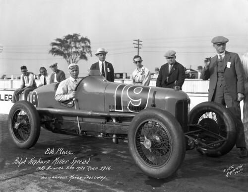 Ralph hepburn miller spl indianapolis motor speedway for Indianapolis motor speedway com
