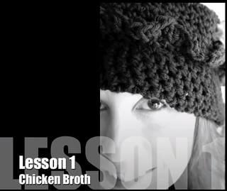 Cooking School for Delinquents Lesson #1: Homemade Chicken Broth | by www.suziethefoodie.com