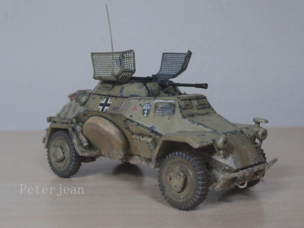 Sd.Kfz.222 (1/72 ICM) German Light Armored Vehicle   Flickr