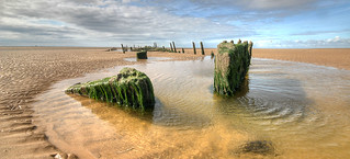shipwreck on Mad Wharf, Ainsdale Sands | by BoblyP