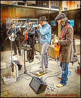 INTERCITY BLUES BAND | by DEREK HYAMSON . OVER 5 AND A HALF MILLION