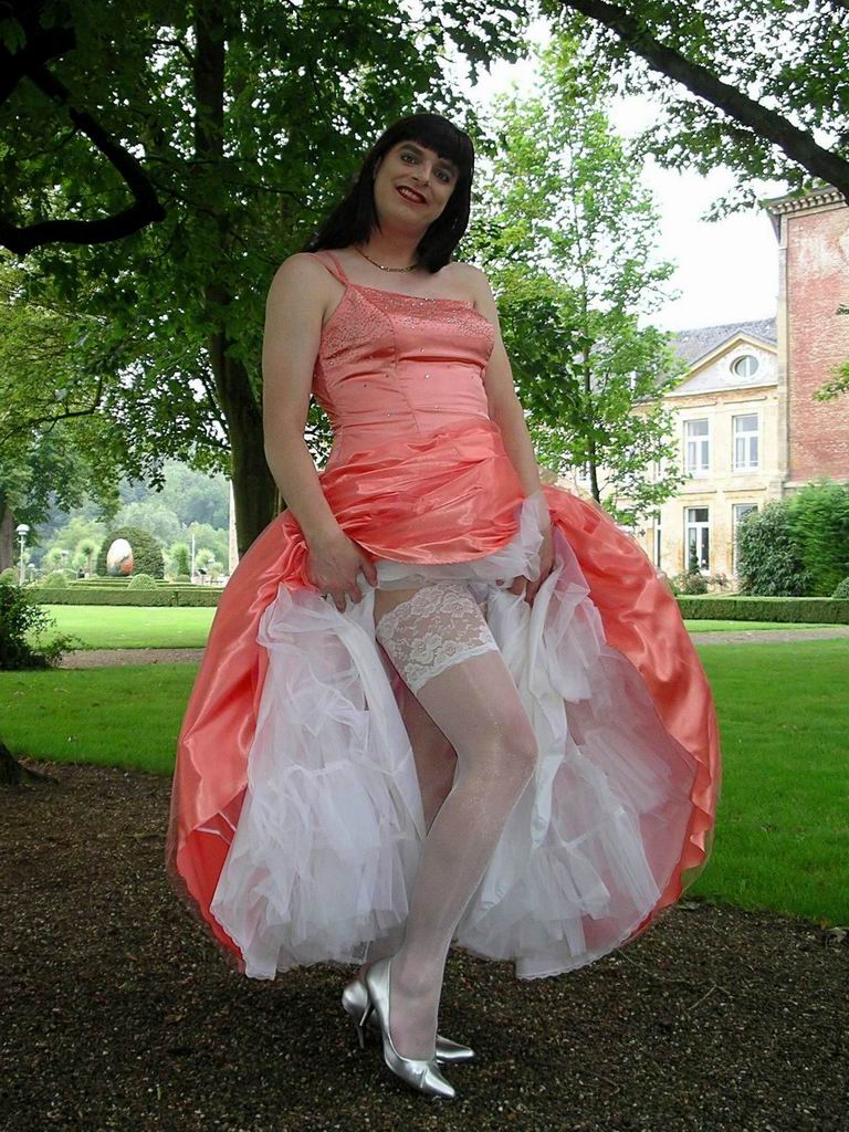 Help Me Please My Skirts And Petticoats Block My View On