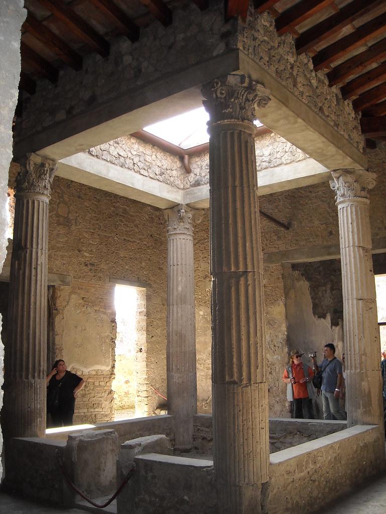 Casa dei quattro stili house of four styles pompe - Maison romaine antique ...