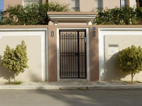 Porte ext rieure tunis citizen59 flickr for Porte fer exterieur