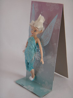 Disney Fairies Periwinkle 10'' Doll - First Look - Deboxing - Attached to Backing - Full Right Front View | by drj1828