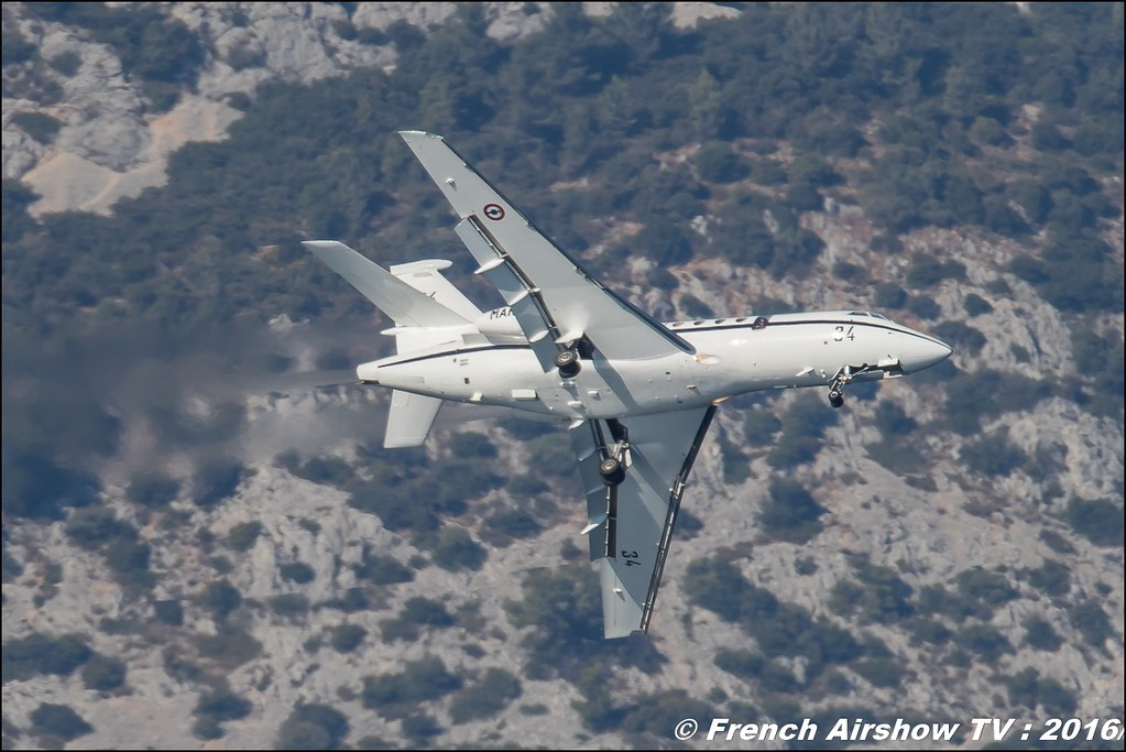 Dassault Falcon 50 , Marine Nationale ,Toulon Airshow 2016 , Meeting Aerien toulon 2016 , lens Canon