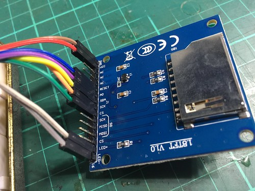 Connecting an ST7735 LCD to NodeMCU | by Christopher Biggs