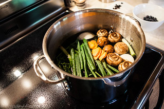Vegetable Stock | by Culinary Fool