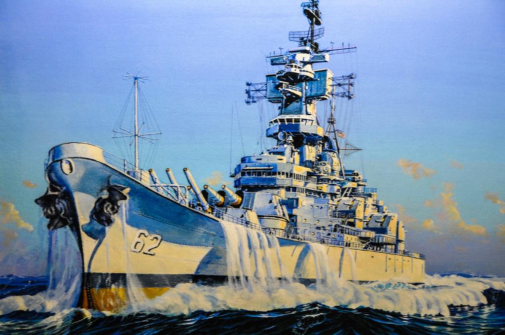 Building The Battleship New Jersey