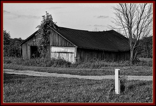 Black and White Barn Scape | by the Gallopping Geezer '5.0' million + views....