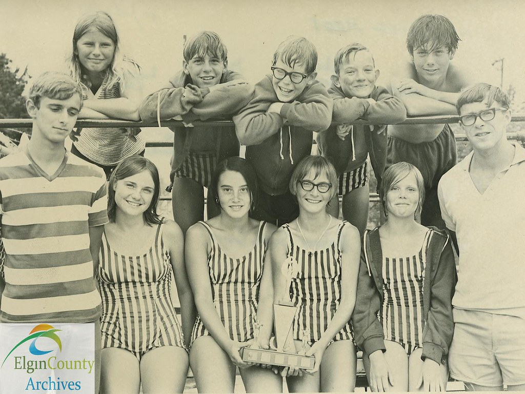 Aylmer swimming pool invitational diving competition 197 for Pool design 1970